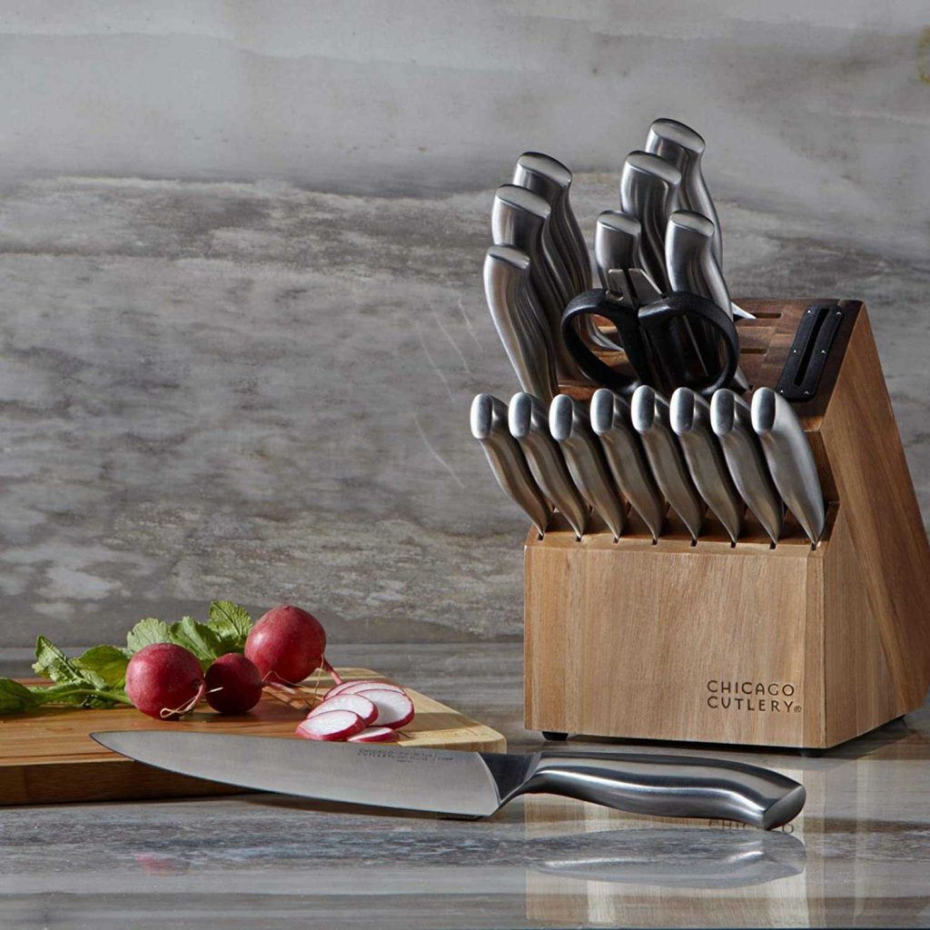 kohls kitchen knives - chicago cutlery insignia steel