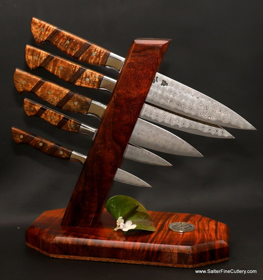 Salter Fine Cutlery hand forged kitchen knives